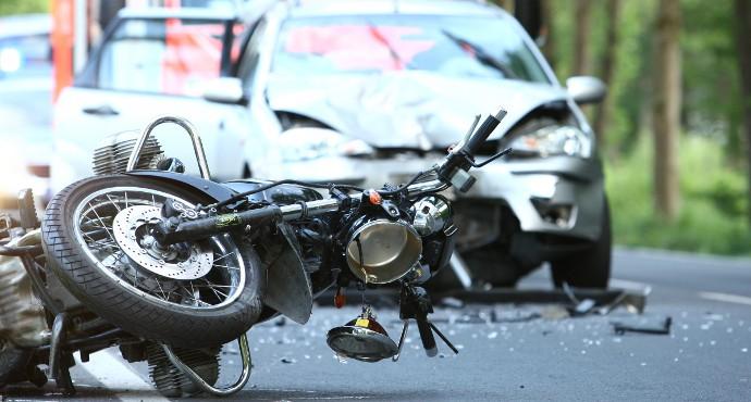 Foto eines Unfalls